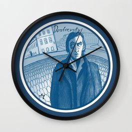 Dostoevsky Crime and Punishment 1866 Wall Clock