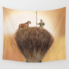 Shaving Brush Savanna Wall Tapestry