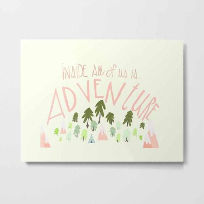 Adventurers Metal Print