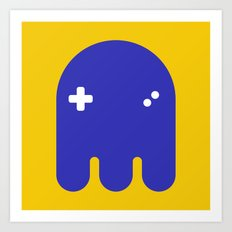 Ghost 1 Art Print
