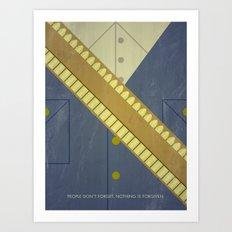 Video Game Poster: Cowboy Art Print