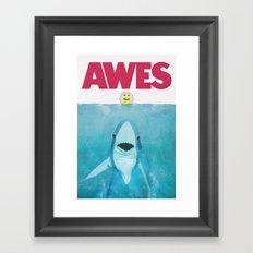 AWES Framed Art Print