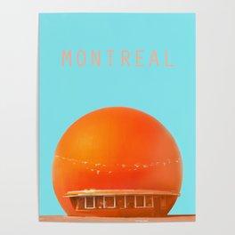 MONTREAL PASTEL Orange Julep Poster