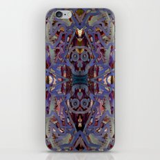 Skulls Purple Rouge iPhone Skin
