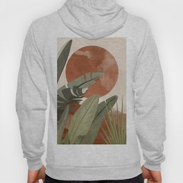 Tropical Leaf- Abstract Art 10 Hoody