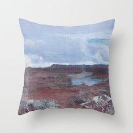 Glen Canyon Throw Pillow