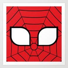 Adorable Spider Art Print