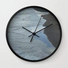 Westcoast textures Wall Clock