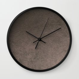 Old grey brown Wall Clock