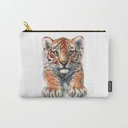 Playful Tiger Cub 907 Carry-All Pouch