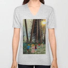 The Call of the Wild Unisex V-Neck