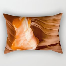 Upper Antelope Canyon Rectangular Pillow