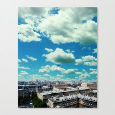 With love, forever yours. Canvas Print