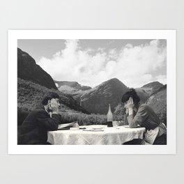 Collage Une femme est une femme - Jean Luc Godard  (1961) Art Print