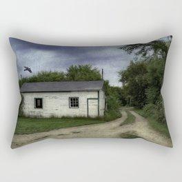 Flyover at dusk Rectangular Pillow