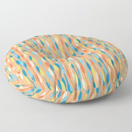 Summer Rain (colorful pattern) Floor Pillow
