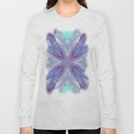 Watercolor Abstract Long Sleeve T-shirt