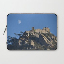 Magical Full Moon above the Castle of the Moors, Portugal Laptop Sleeve