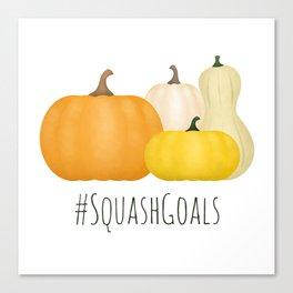 #SquashGoals Canvas Print