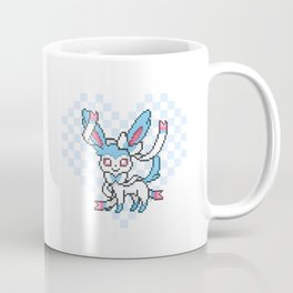8-Bit Shiny Sylveon (Textless) Coffee Mug