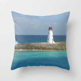 Coral Point Throw Pillow