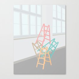 STABLET HØJT Canvas Print