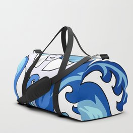 abstract colourful comic characters Duffle Bag