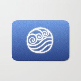 Avatar Water Bending Element Symbol Bath Mat