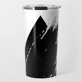 Splashed Triangle Travel Mug