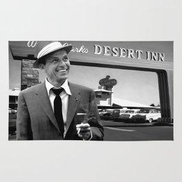 Frank Sinatra in Las Vegas Rug