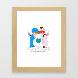 Remember the Children Framed Art Print