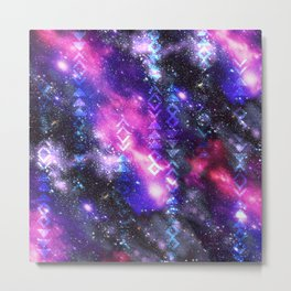 Tribal Galaxy Metal Print