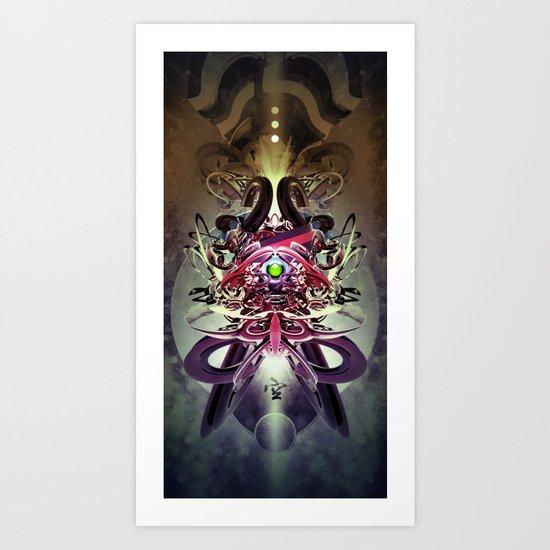 3-3 Art Print