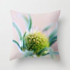 Green Points Throw Pillow