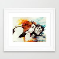eternal sunshine Framed Art Prints featuring Eternal Sunshine by Alycia Plank