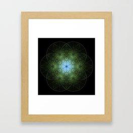Seed Inversion Framed Art Print