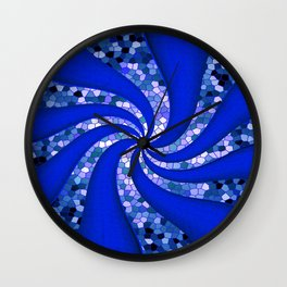 Swirling Streets... Wall Clock
