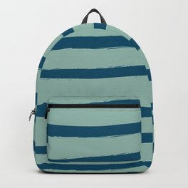 Paint Lines Turquoises Backpack