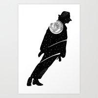 Moon Walker 4 Art Print