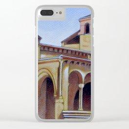 Postcard from Iglesia de la Trinidad, Segovia, Spain Clear iPhone Case