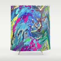fairy Shower Curtains featuring Fairy by Lizzshop