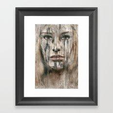 Alte Gedanken ! Framed Art Print