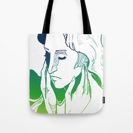Green Caress Tote Bag