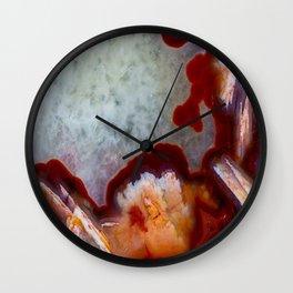 Condor Agate Sagenite Wall Clock