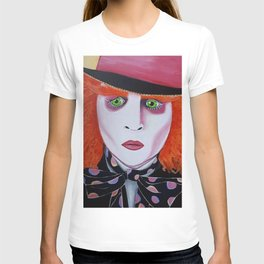 Mad Hatter Painting T-shirt