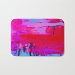 Pink Storm Bath Mat