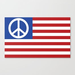 Peace in America Canvas Print