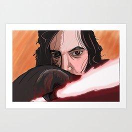 Kylo Fan Art Art Print