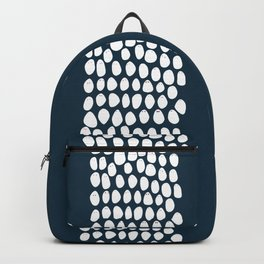 Friends come in different shapes - blue Backpack