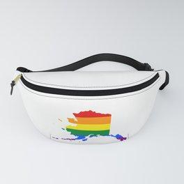 LGBT Alaska (Gay Pride) Fanny Pack
